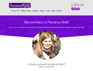 panamareiki.com screenshot