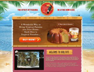 panamarumcake.com screenshot