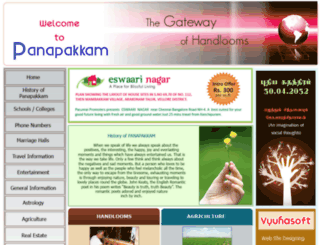 panapakkam.com screenshot