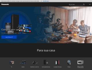 panasonic.com.br screenshot