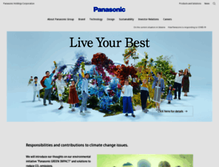 panasonic.net screenshot