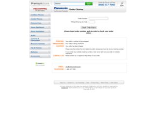 panasonic.premiumstore.com screenshot