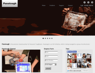 panatough.com screenshot