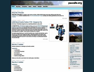 pancake.org screenshot