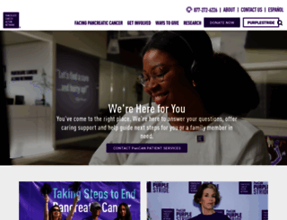 pancan.org screenshot