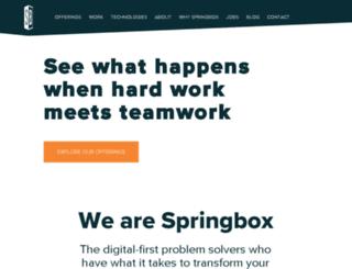 pancantrialfinderqa.springbox.com screenshot