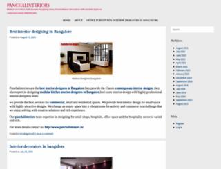 panchalinteriors123.wordpress.com screenshot