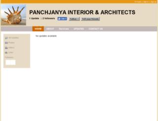 panchjanyainteriors.com screenshot