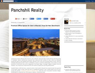panchshilrealty.blogspot.in screenshot