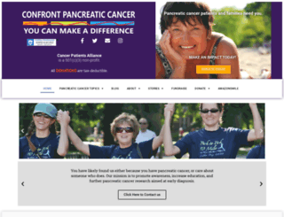 pancreatica.org screenshot
