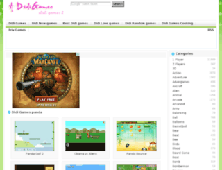 panda.adidigames.com screenshot