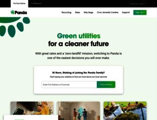 panda.ie screenshot