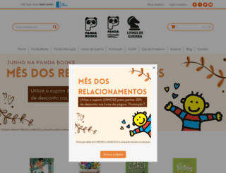 pandabooks.com.br screenshot