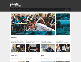 pandacycles.de screenshot