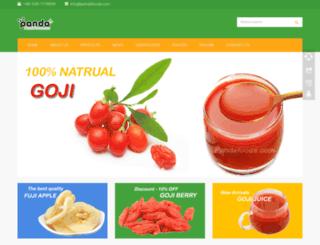 pandafoods.com screenshot