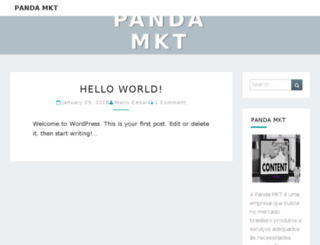 pandamkt.com.br screenshot