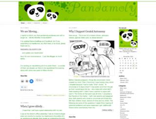 pandamoly.wordpress.com screenshot
