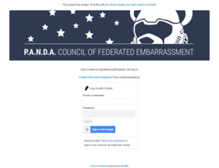 pandamonium2016.sched.org screenshot