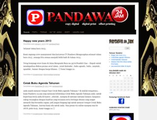 pandawa24jam.wordpress.com screenshot