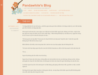 pandawhite.wordpress.com screenshot