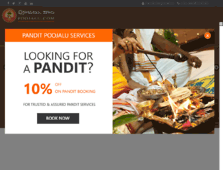 panditforpooja.com screenshot