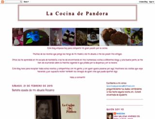 pandora-lacocinadepandora.blogspot.com screenshot