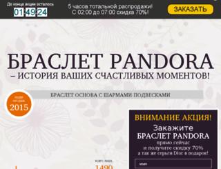 pandora.minus70.ru screenshot