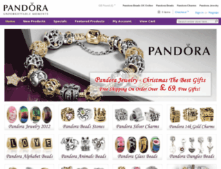 pandorabeadsukonline.com screenshot