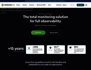 pandorafms.com screenshot