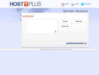 pandoraseeds.cz screenshot