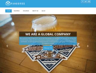pandoros.com screenshot
