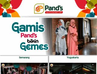 pands.co.id screenshot