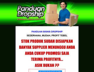 panduandropship.com screenshot