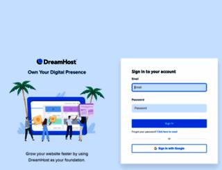 panel.dreamhost.com screenshot
