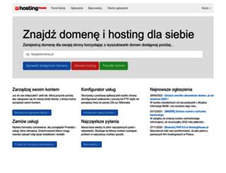 panel.hostinghouse.pl screenshot