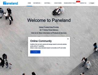 paneland.com screenshot
