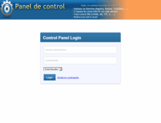 paneldecontrol.biz screenshot
