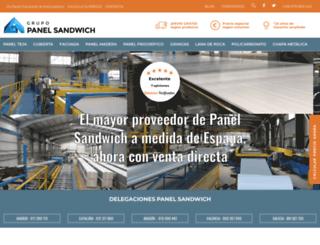 panelsandwich.com screenshot