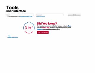 panelsms.lleida.net screenshot