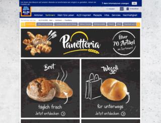 panetteria.aldi.ch screenshot