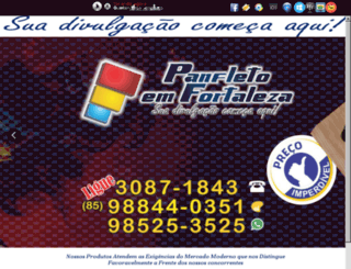 panfletoemfortaleza.com.br screenshot