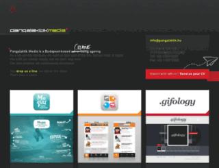 pangalaktik.hu screenshot