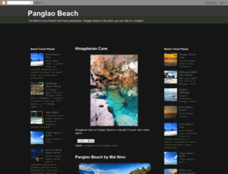 panglaobeach.blogspot.com screenshot
