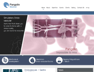 pangolin.co.il screenshot
