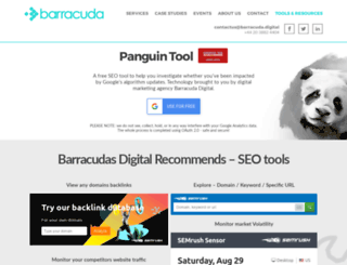 panguintool.barracuda-digital.co.uk screenshot