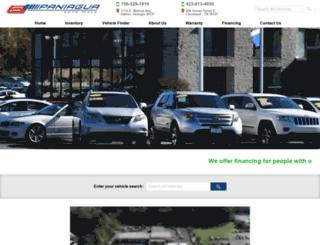 paniaguaautos.com screenshot