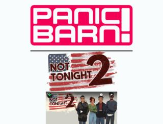panicbarn.com screenshot