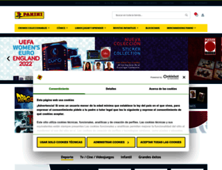 panini.es screenshot