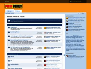 paniniforum.de screenshot