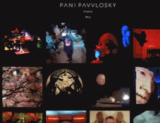 panipawlosky.com screenshot